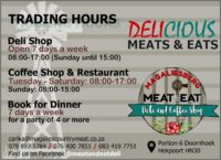 Magaliesberg Meat & Eat Deli